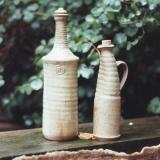 Flaschen, Holzbrand, Ascheglasur, Foto: Sebastian Laraia